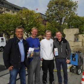 Trockeneisreinigung am Jungfernstieg durch Wonsak 100% Hamburg