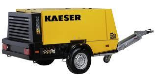 Kompressor mieten Kaeser M100 zum Trockeneisstrahlen von Wonsak Hamburg