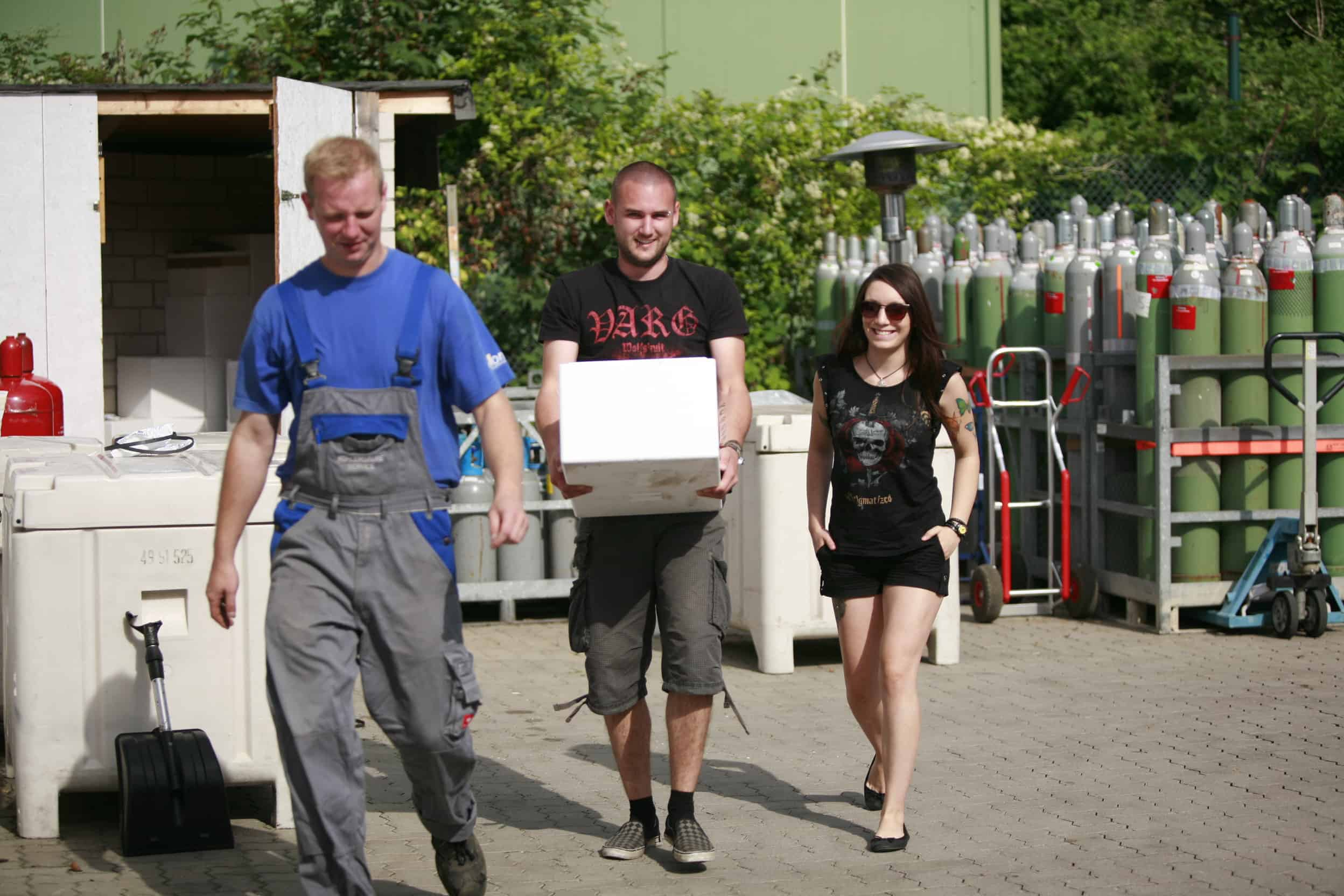 Wacken Trockeneis für Selbstabholer bei Wonsak Hamburg