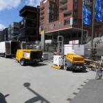 Trockeneisstrahlen in der Hafen City - Wonsak 100% Hamburg