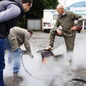Trockeneisstrahlgerät mieten bei Wonsak 100% Hamburg