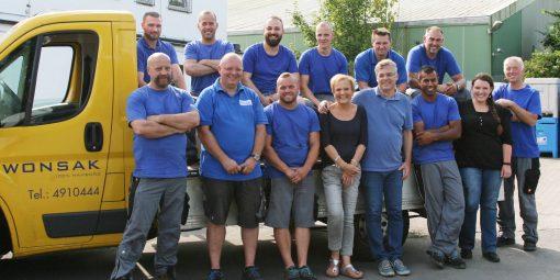 Wir über uns - das Wonsak-Team 100 % Hamburg