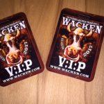 Wacken 2017 VIP Pässe