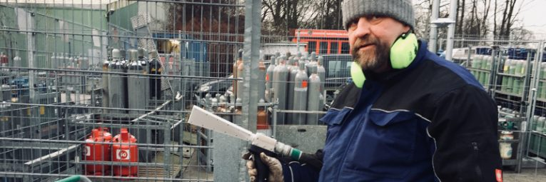 Neu Abrasives Trockeneisstrahlen bei Wonsak 100% Hamburg