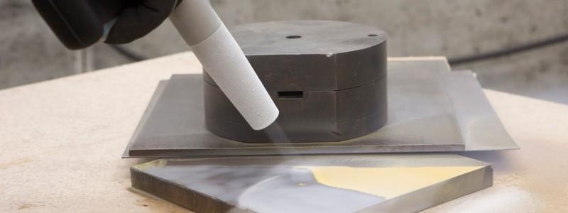 Neu Abrasives Trockeneisstrahlen Kombistrahlen mit dem Ascojet
