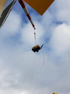 Offshore Trockeneisstrahlen unser Kompressor lernt fliegen