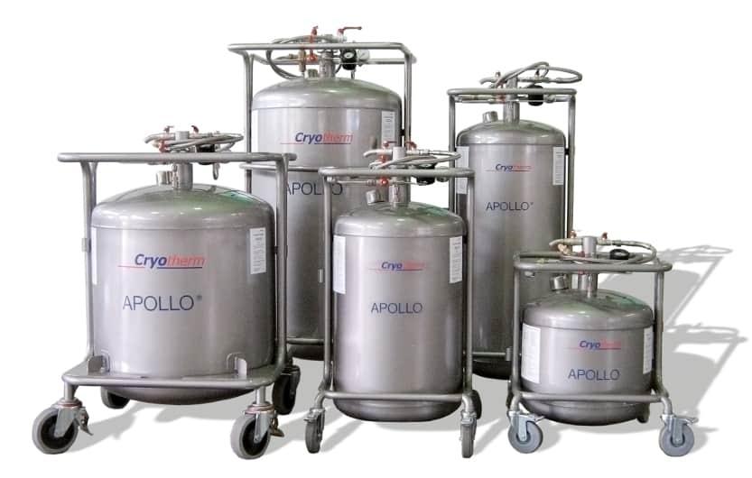 Flüssigstickstoff Apollo Behälter alle Größen bei Wonsak 100% Hamburg