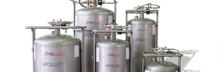 Lagerbehälter für Flüssigstickstoff Apollo von Wonsak 100% Hamburg