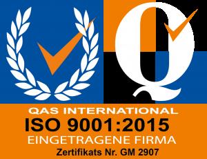 Wonsak ist QAS-zertifiziert
