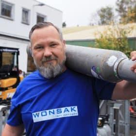 Oliver Silberbauer Wir über uns bei Wonsak Kohlensäure Service GmbH Hamburg