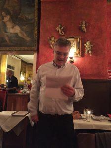 Wonsak Weihnachtsfeier 100% St. Pauli Chef Ansprache mit Putten