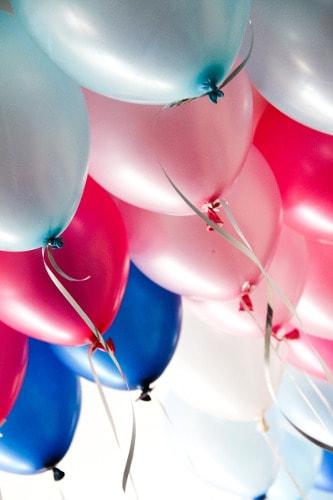 Helium Luftballons Hochzeit