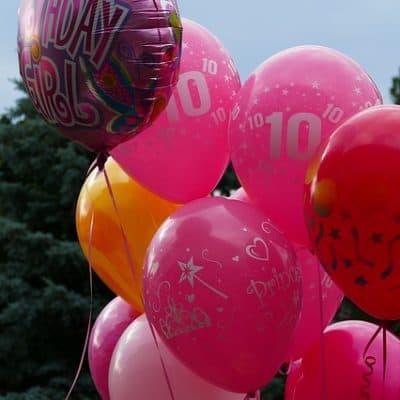 Helium Luftballons für Hochzeit, Party, Geburtstag mit Wonsak Ballongas