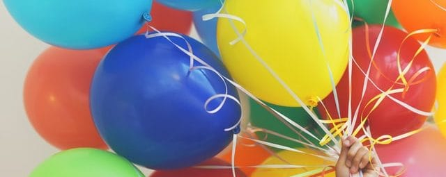 Helium Ballongas Luftballons füllen