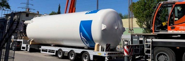 Kohlensäure Tank Austausch für CO2 Füllstation Wonsak 100% Hamburg