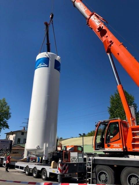 Unser neuer Kohlensäure Tank ist da