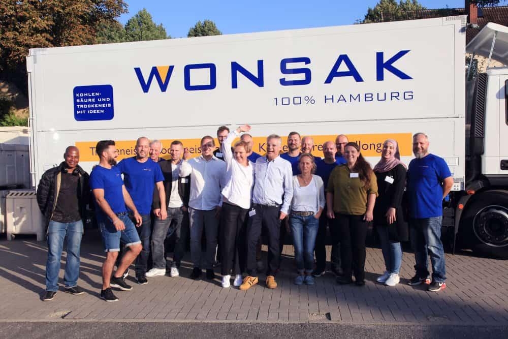50 Jahre Wonsak das Wonsak Team
