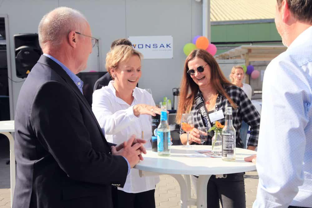 50 Jahre Wonsak Martina Wonsak mit Gästen