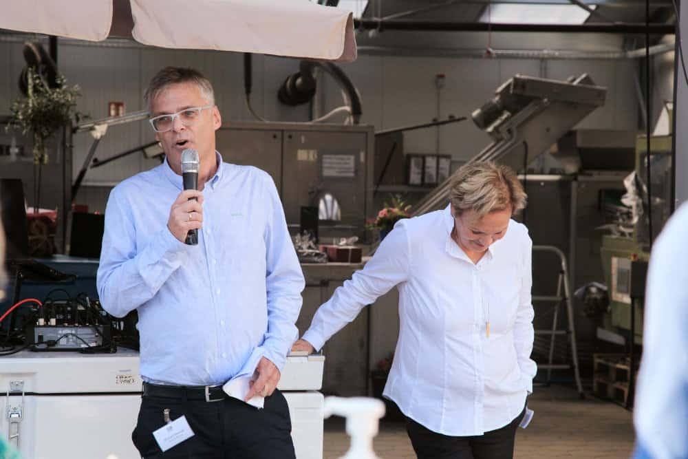 50 Jahre Wonsak Michael und Martina Wonsak werden emotional