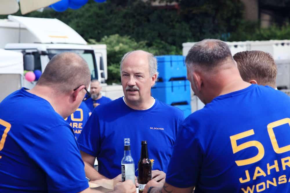 50 Jahre Wonsak unsere blauen Männers