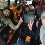 Wonsak macht Disco auch im Bus